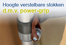 Voortenten Unico | Power-Grip klem