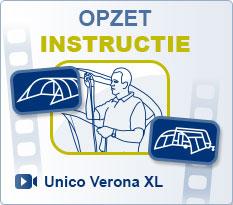 Voortenten Unico | Luifel Unico Verona XL Opzet instructie