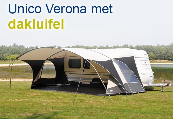 Unico Verona met dakluifel