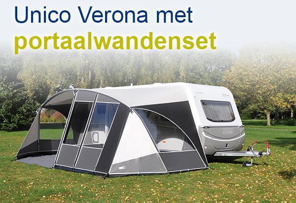 Unico Verona met portaalwand